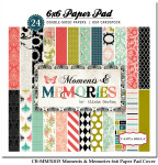 CB-MM31015_Moments_&_Memories_6x6_Paper_Pad_Cover